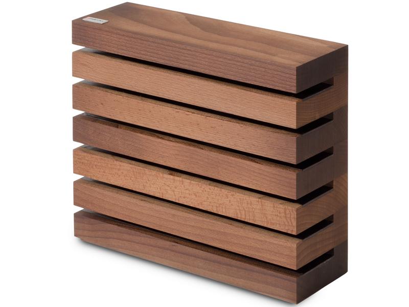Wüsthof Blok na nože hnědý magnetický 7249