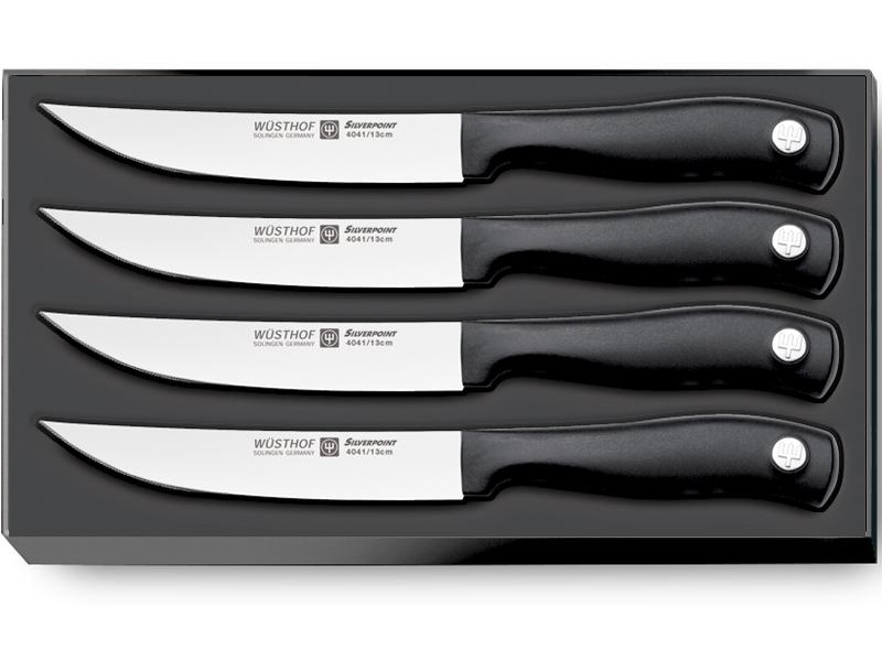 Wüsthof SILVERPOINT Sada steakových nožů 4 ks 9634