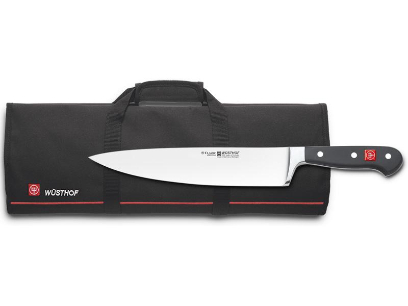 Wüsthof CLASSIC Nůž kuchařský 23 cm + Kuchařská mapa 4582/23+7377