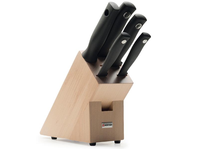 Wüsthof SILVERPOINT Blok s noži - 5 dílů 9829