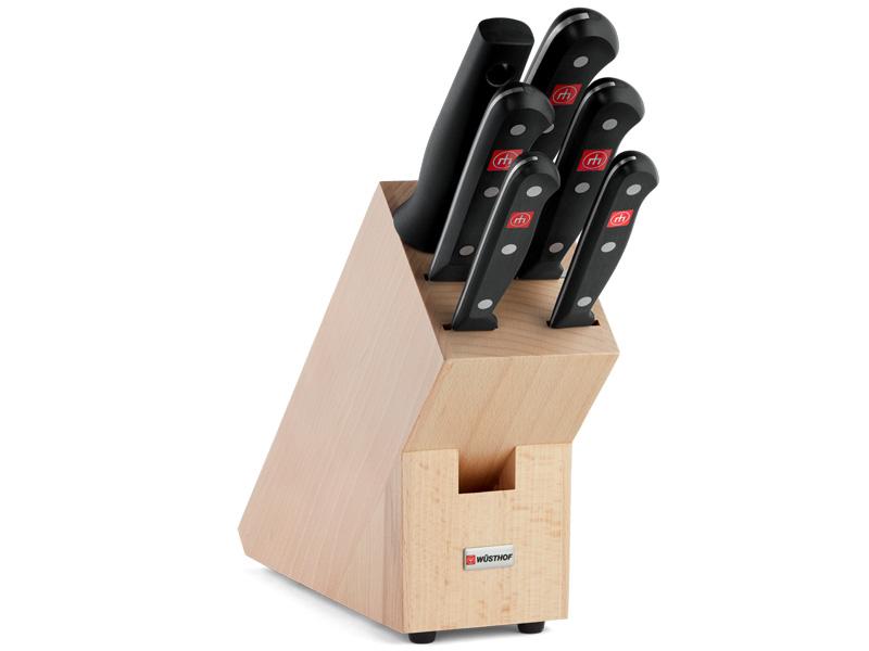 Wüsthof GOURMET Blok s noži - 6 dílů 9831-2