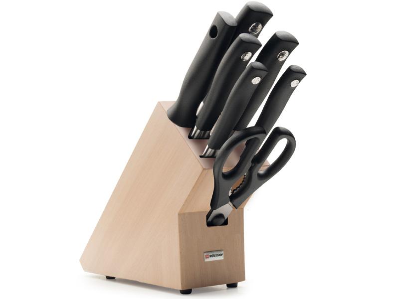 Wüsthof GRAND PRIX II Blok s noži - 7 dílů 9851