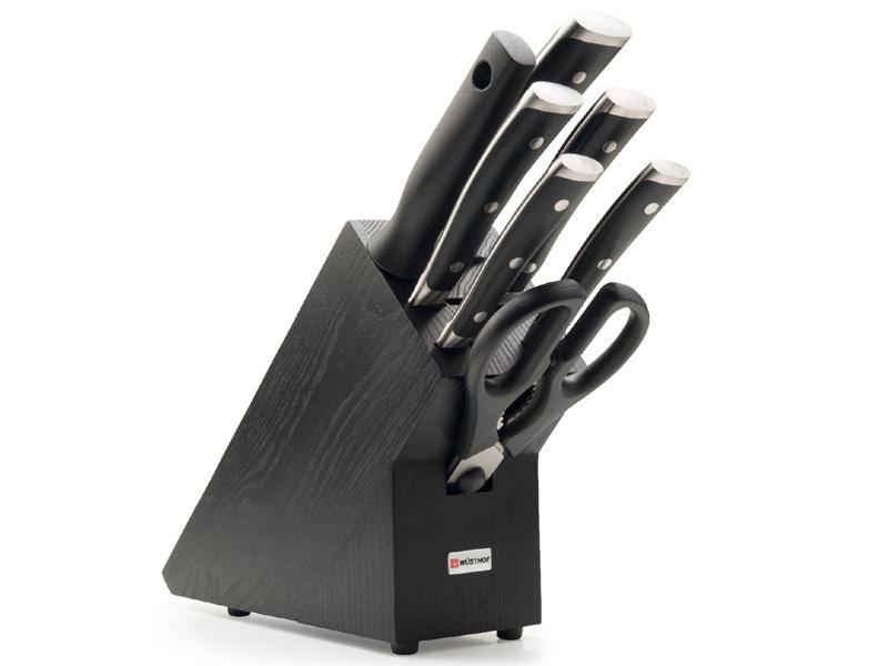 Wüsthof CLASSIC IKON Blok s noži - 7 dílů 9878