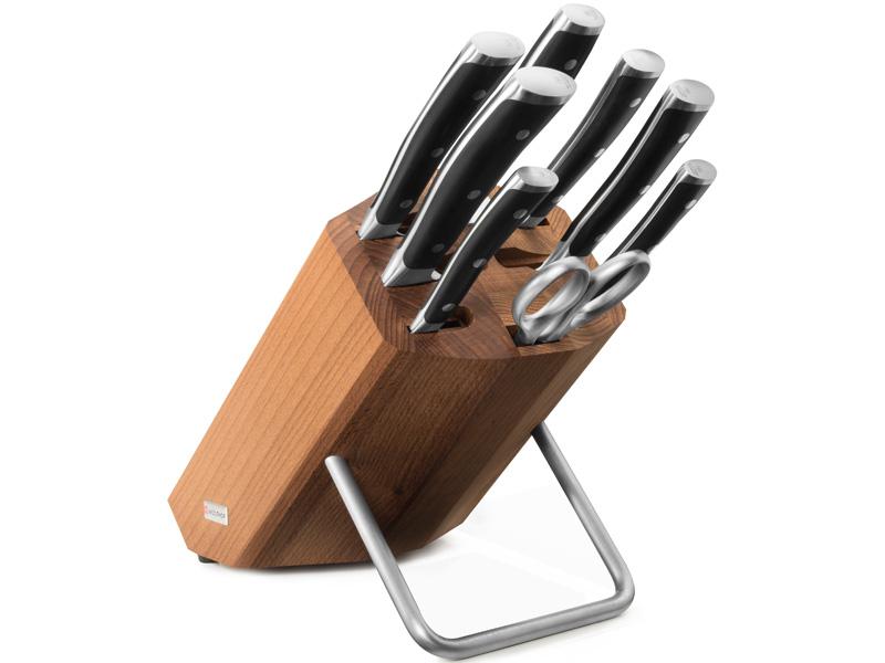 Wüsthof CLASSIC IKON Blok s noži - 8 dílů 9882