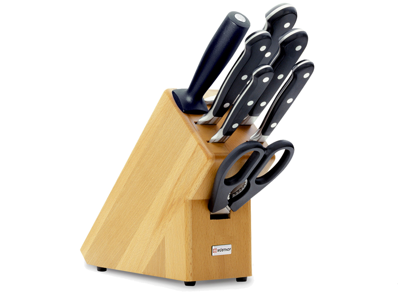 Wüsthof CLASSIC Blok s noži - 7 dílů 9835-200