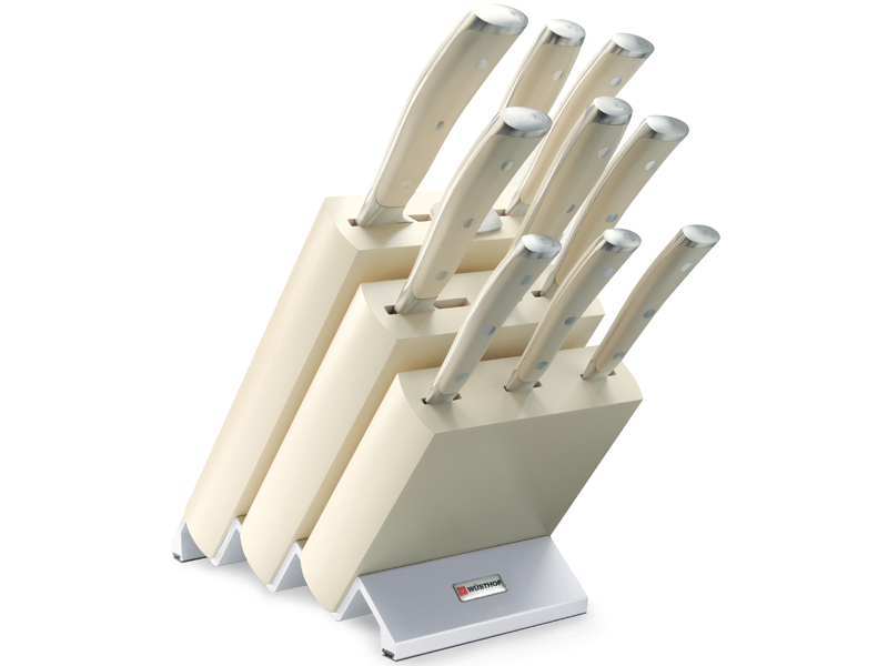 Wüsthof CLASSIC IKON créme Blok s noži - 9 dílů 9874