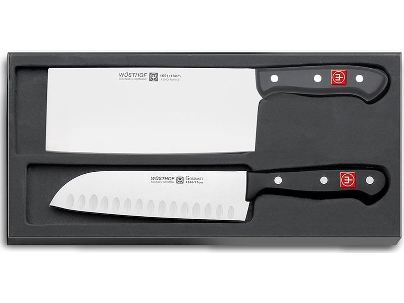 Wüsthof GOURMET Sada 2 asijských kuchařských nožů 9261