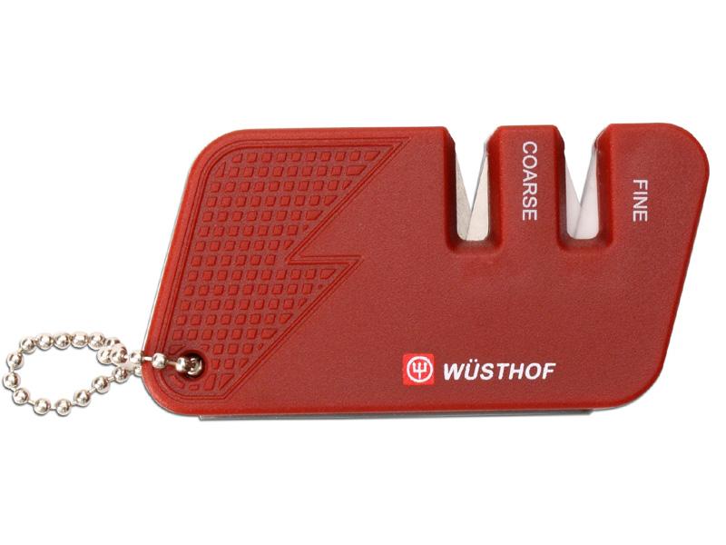 Wüsthof Kapesní brousek na nože - dvoustupňový 4342r-1