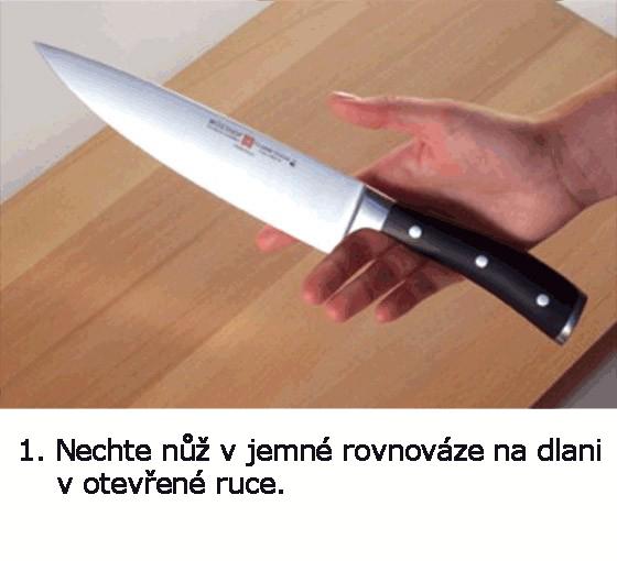 jak držet nůž 1