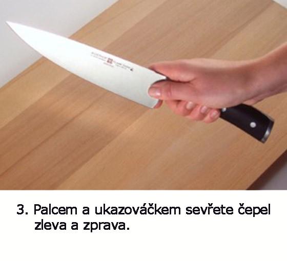 jak držet nůž 3