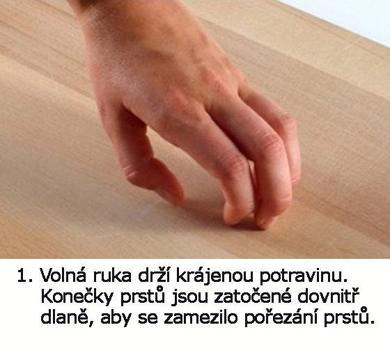 jak držet nůž 4